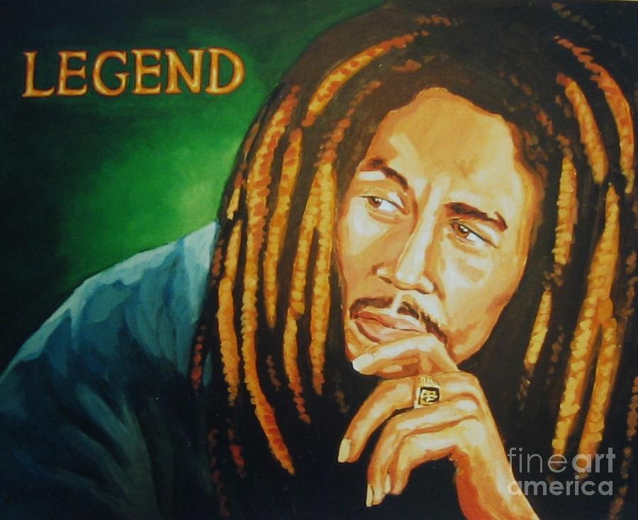 Bob marley the legend lives on painting by john malone bob marley painting bob marley the legend lives on by john malone altavistaventures