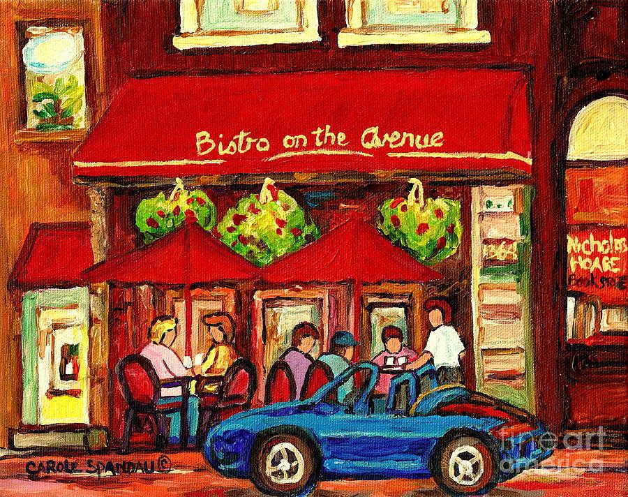 Paintings Of Paris Cafe Scenes
