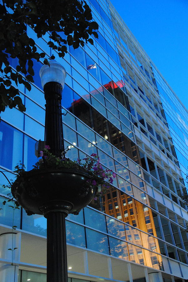 Butz Corporate Building With Ppl Reflection - Allentown Pa Photograph