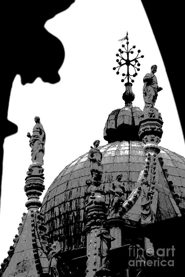 Byzantine Architecture Photograph -  Byzantine Dome by Jacqueline M Lewis