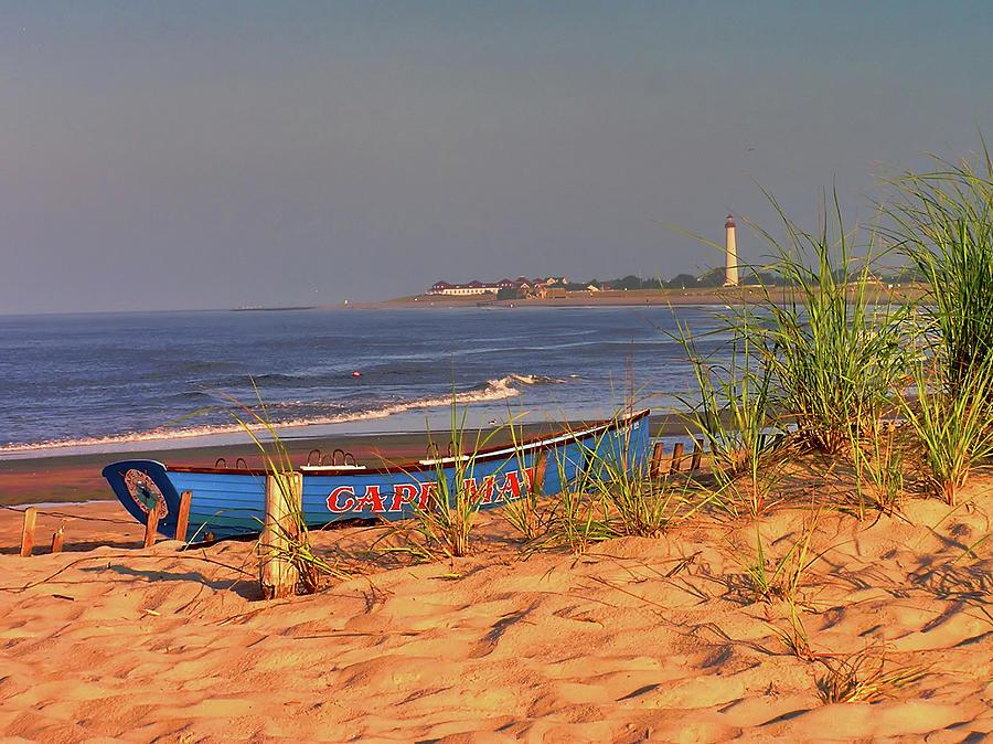 Cape Photograph -  Cape May Beach by Nick Zelinsky Jr