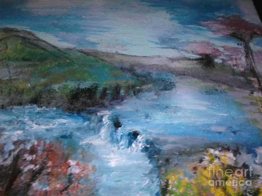 Landscape Painting -  Capture Creation by Sherry Clarke