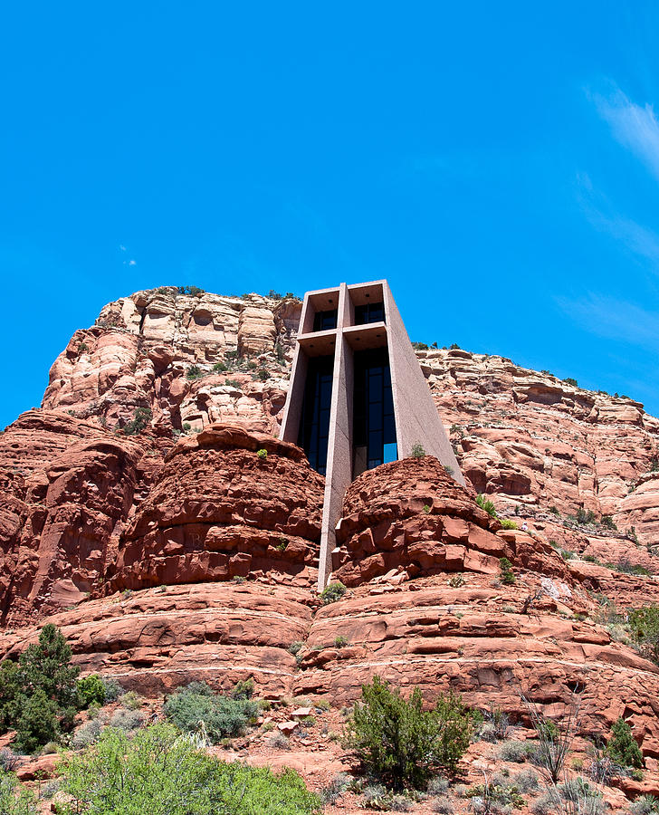 Chapel Photograph -  Chapel Of The Holy Cross by Nickaleen Neff
