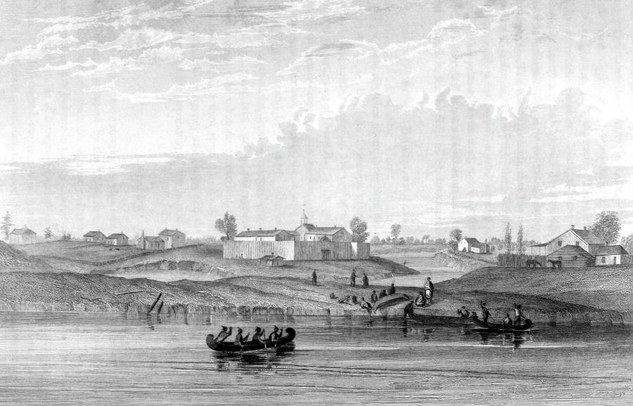 Chicago Distant View Of A Sparsely By Mary Evans Picture Library