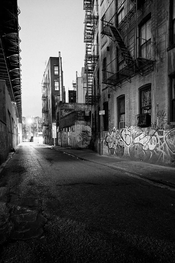 Chinatown Photograph -  Chinatown New York City - Mechanics Alley by Gary Heller