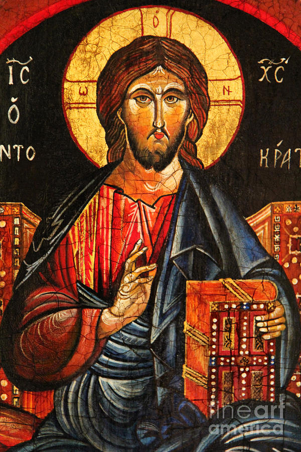 Christ The Pantocrator Icon II Painting