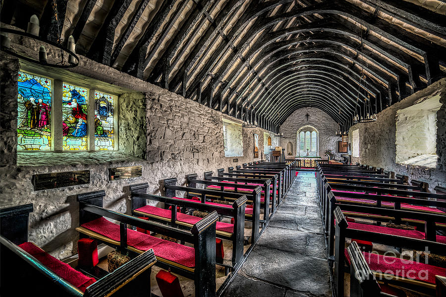 Religion Photograph -  Church Of St Mary by Adrian Evans