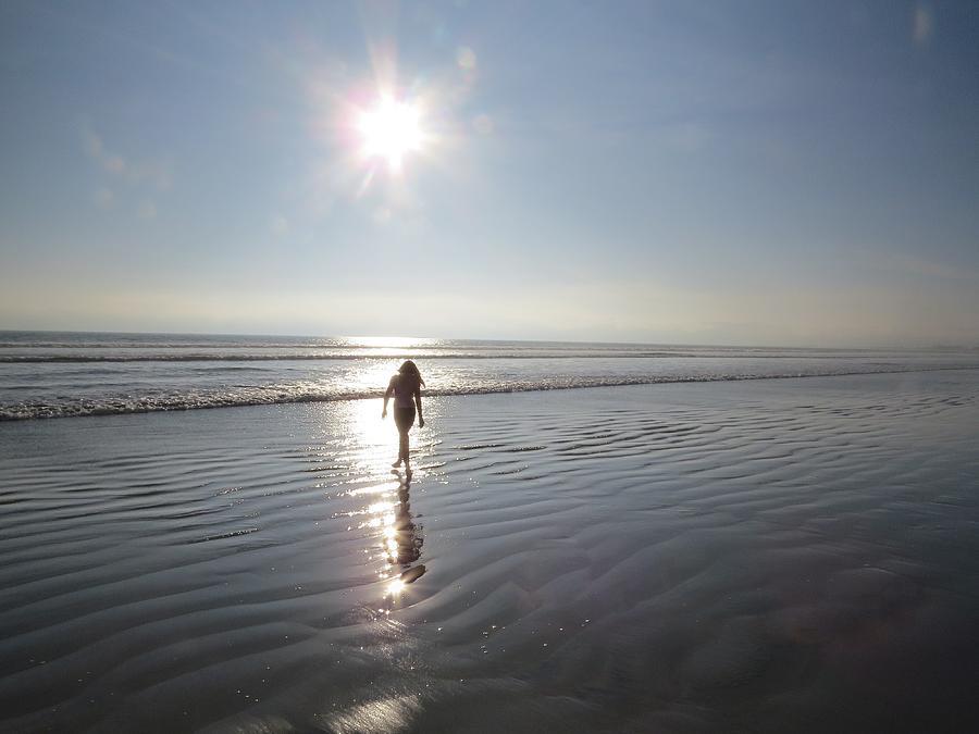 Sunset Photograph -  Coronado Island by Diane Mitchell