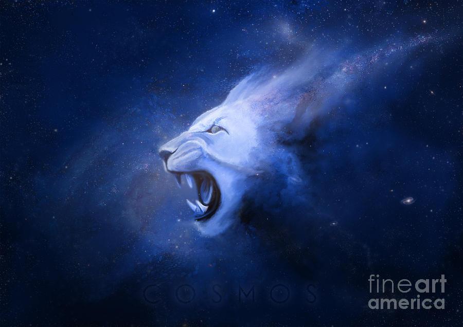 Digital Painting Painting -  Cosmos  by Ivan  Pawluk