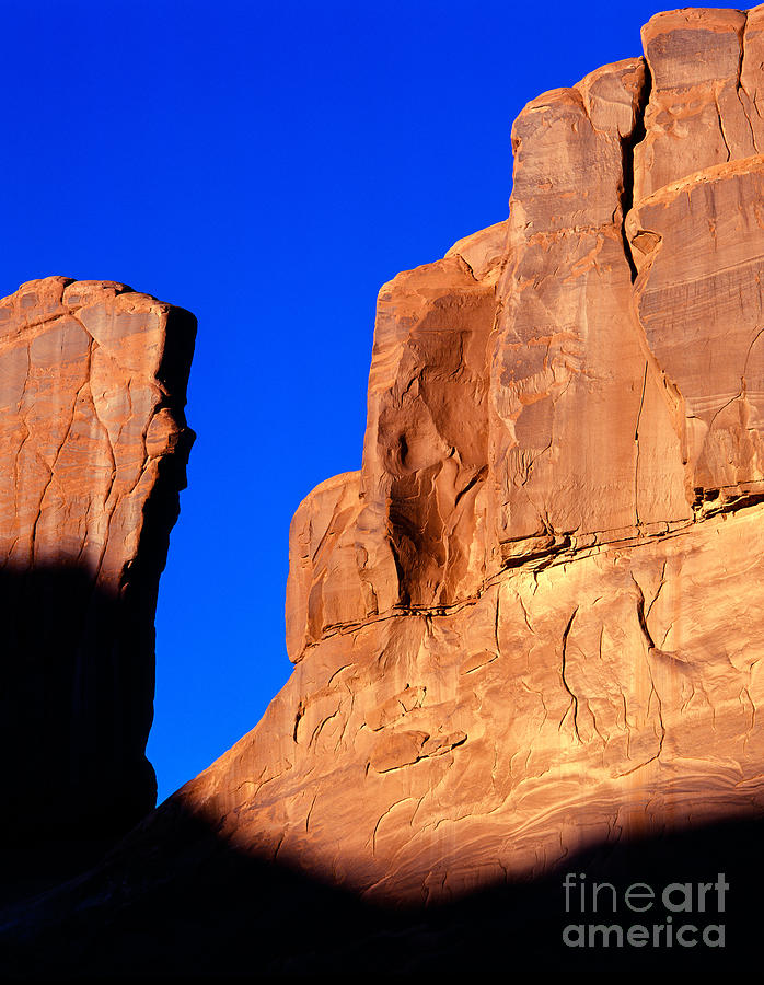 Arches National Park Photograph -  Courthouse Towers by Tracy Knauer