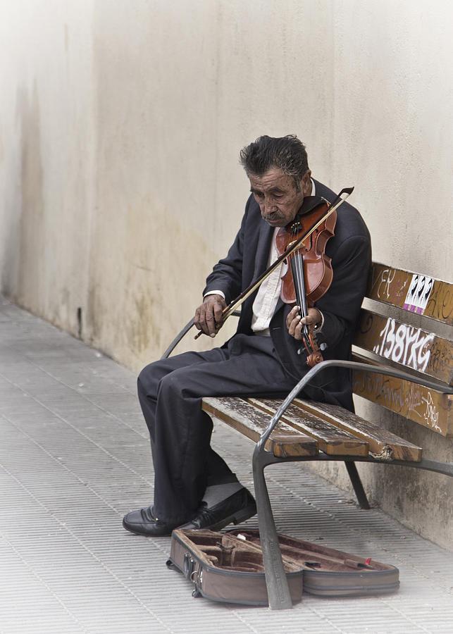 Cry My Violin  by Yelena Rozov
