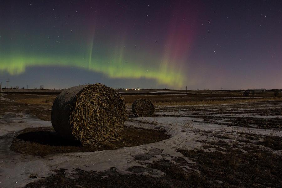 Aurora Borealis Photograph -  Dakota Aurora by Aaron J Groen