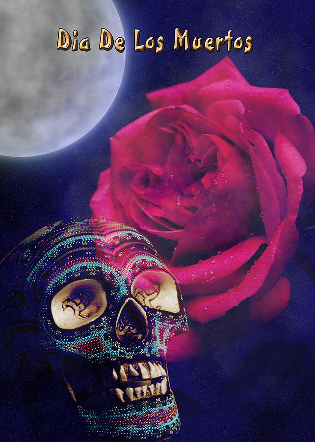 Day Of The Dead Photograph -  Dia De Muertos Day Of The Dead by Jeanette K