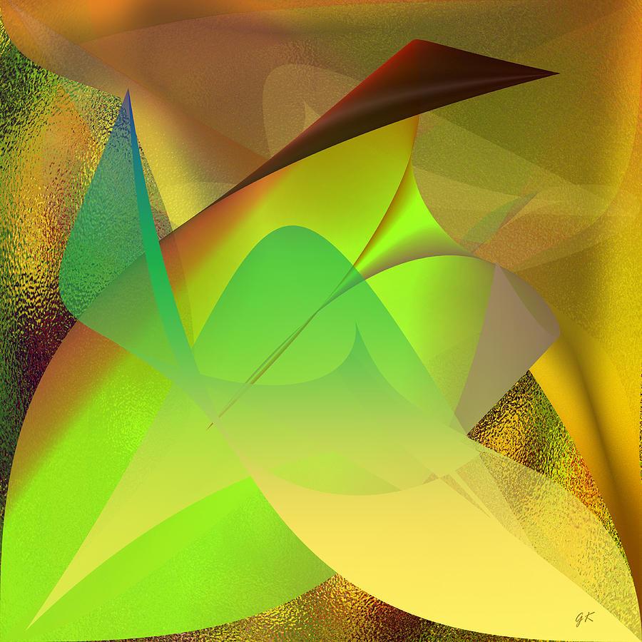 Abstract Digital Art -  Dreams - Abstract by Gerlinde Keating - Galleria GK Keating Associates Inc