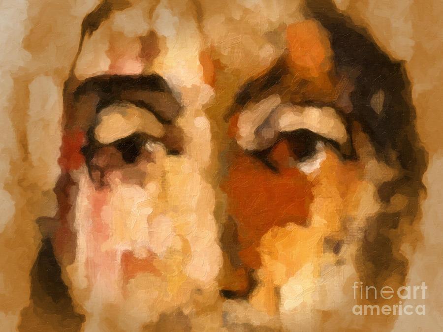 Jesus Painting -  Ecce Homo by Lutz Baar