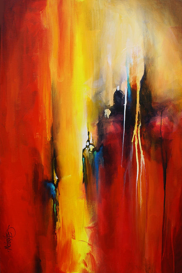 Edge Painting By Michael Lang