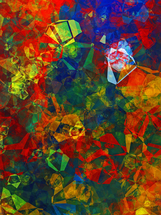 Abstract Digital Art -  Electronics by Patricia Motley