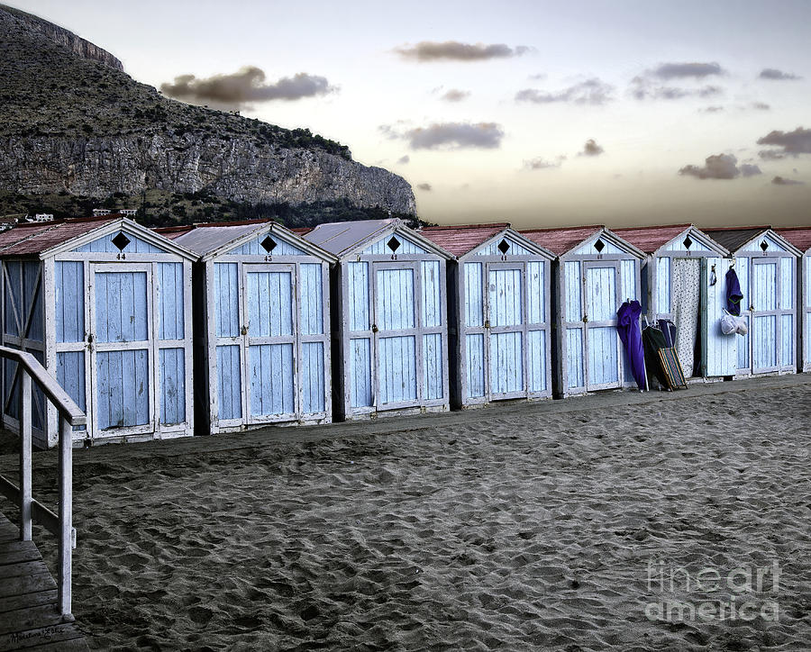 Beach Photograph -  End Of The Day by Madeline Ellis