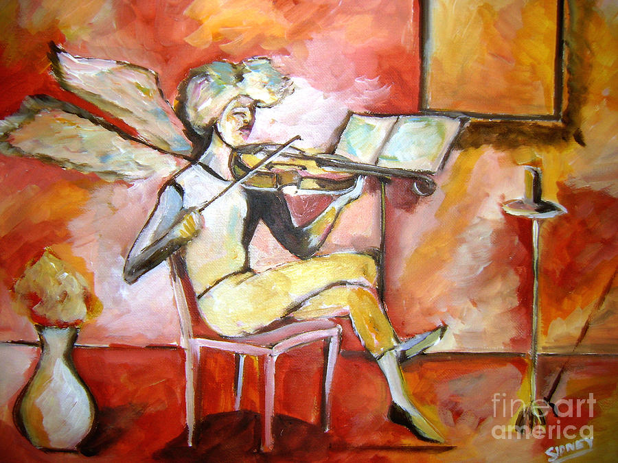 Music Painting -  Endless  Harmony by Sidney Holmes