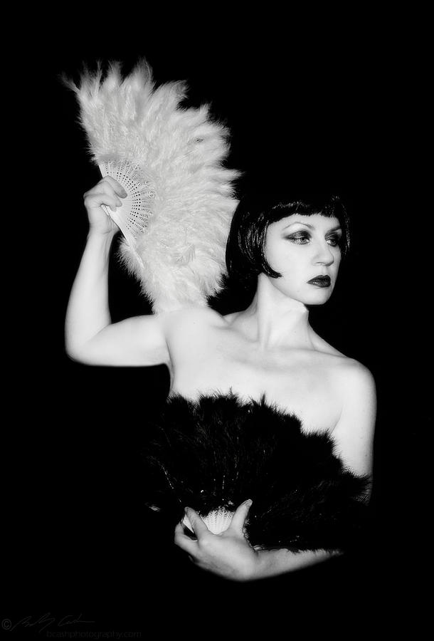 Retro Photograph -  Feather Dancer by Beverly Cash