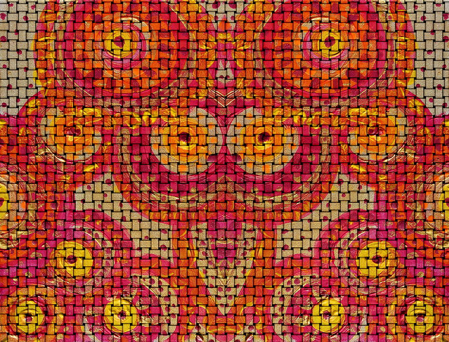 Ethnic Painting -  Folklore Design by Julia Fine Art And Photography