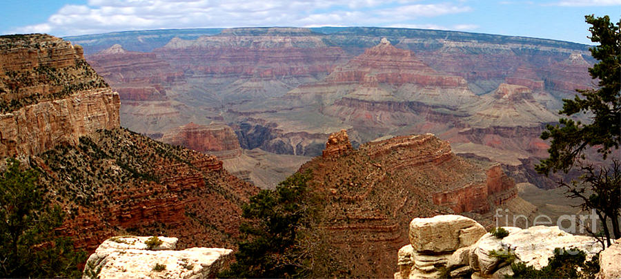 Post Card Photograph -  Grand Canyon Panoramic by The Kepharts