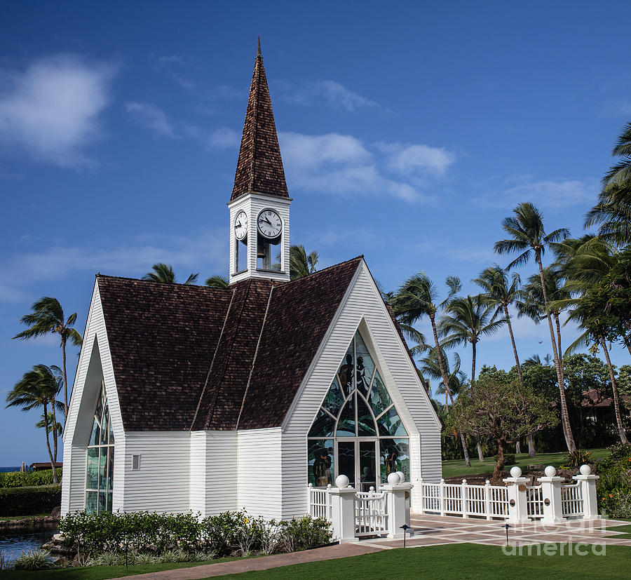 Wedding Chapel: Grand Wailea Hawaiian Resort Wedding Chapel On Maui