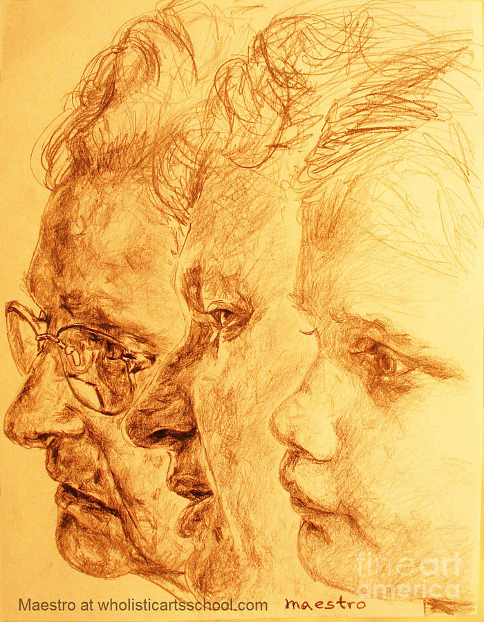 Aptitude Drawing -  Have Your 3 Generations Drawn Or Painted by PainterArtistFINs Husband MAESTRO