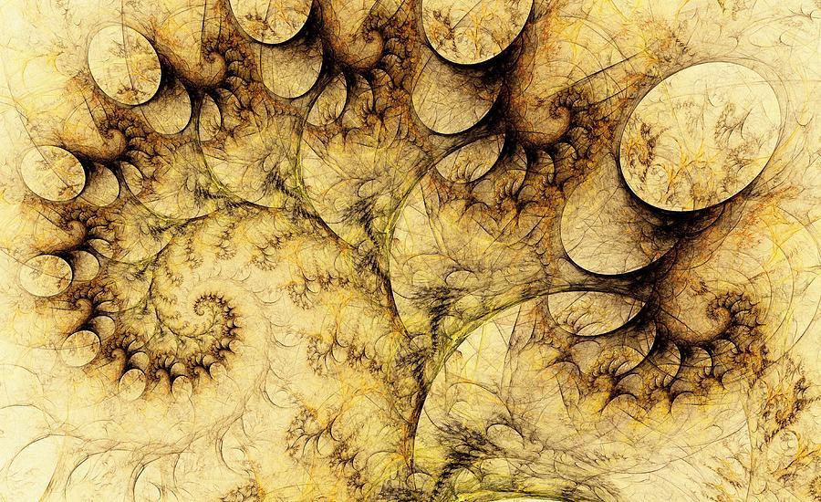 Plant Digital Art -  Idea Of A Tree by Anastasiya Malakhova