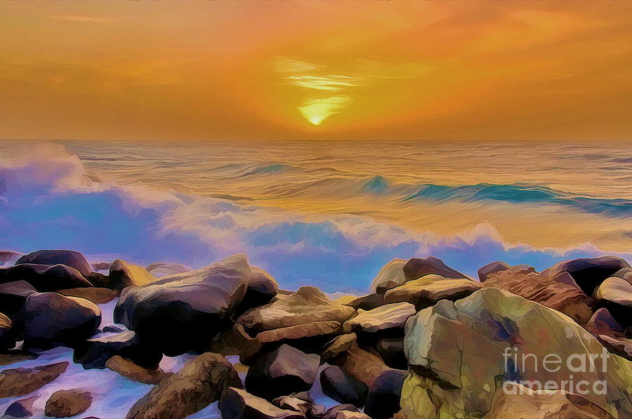 Sunset Photograph -  Jeddah Sunset by George Paris