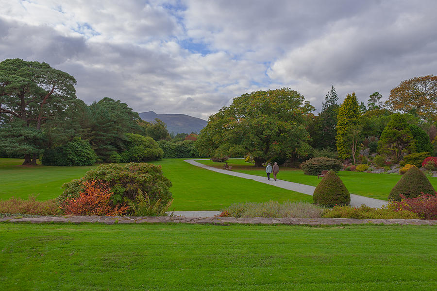 Jk Photograph - A Irish Garden by Pro Shutterblade