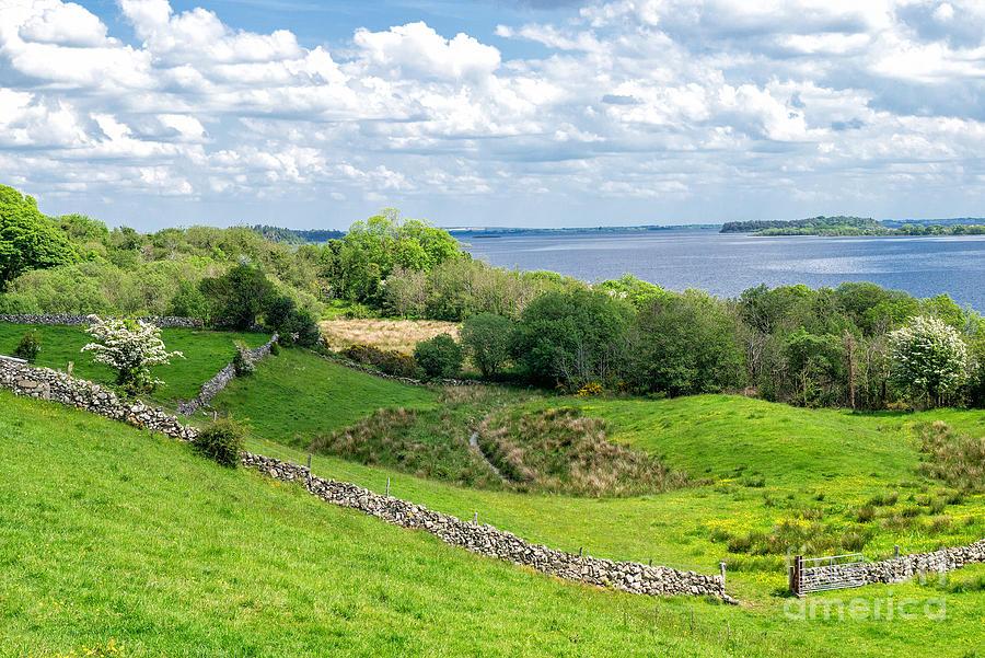 Ireland Photograph -  Loch Coirib by Juergen Klust