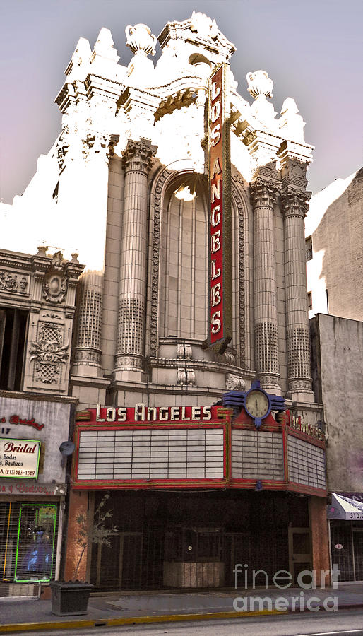 Los Angeles Historic Theater Photograph -  Los Angeles Theater by Gregory Dyer