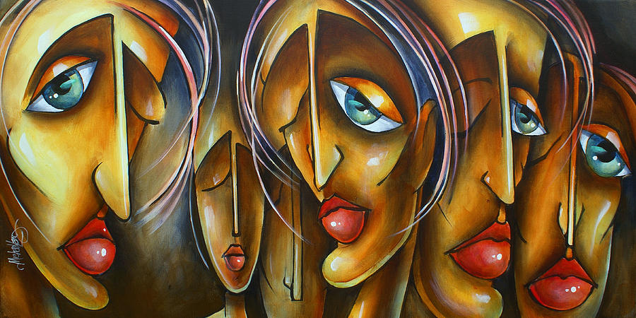 Portrait Painting -  Lost by Michael Lang