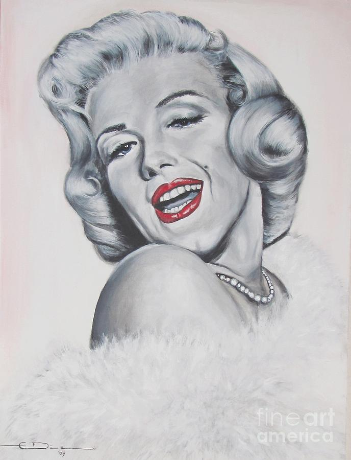 Marilyn Monroe Painting -  Marilyn Monroe by Eric Dee