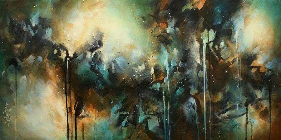 Abstract Painting -  Max Capacity by Michael Lang