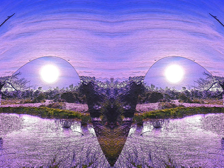 Digital Photograph -  Mirrored Ego by Yolanda Raker