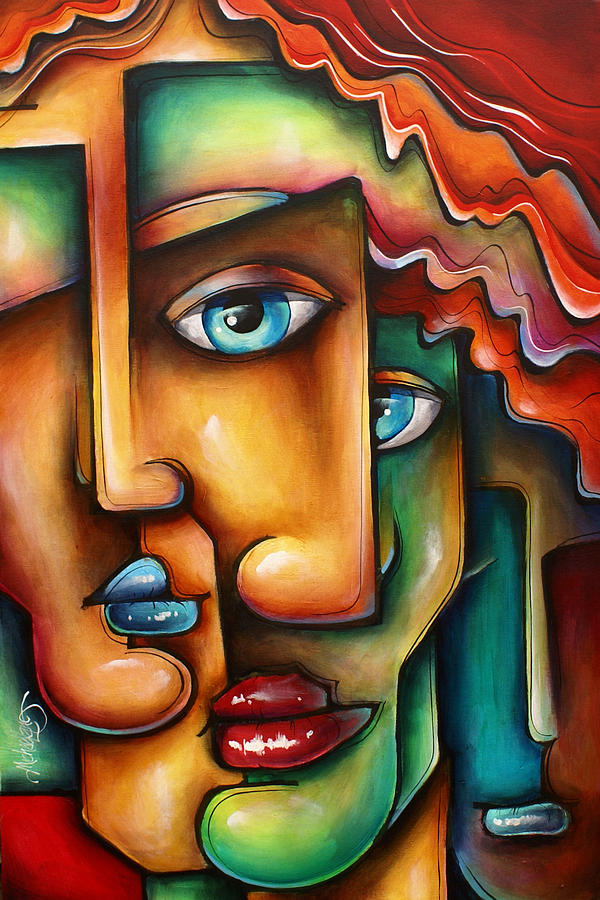Urban Expressions Painting -  Mixed Emotions  by Michael Lang