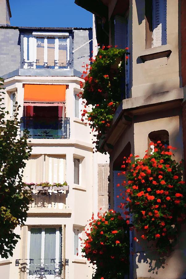 Montmartre Apartment Photograph by Jacqueline M Lewis