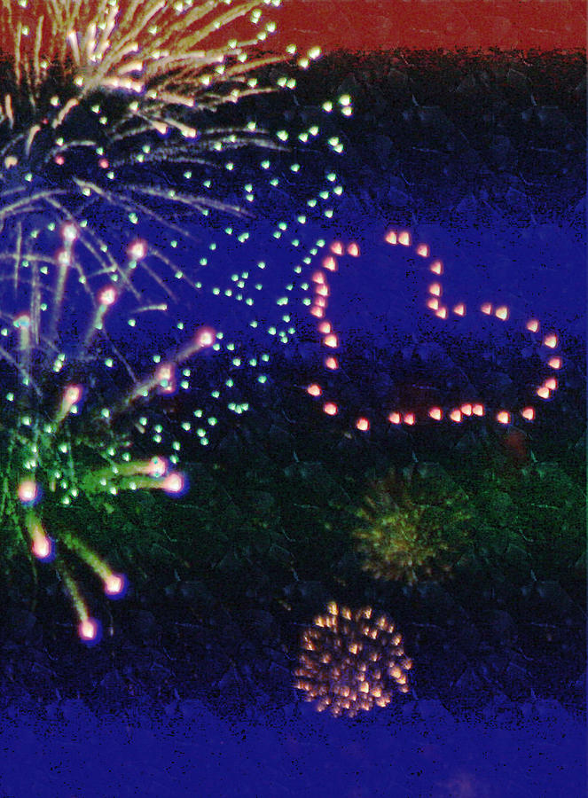 Fireworks Photograph -  My 4th Of July by Janie Johnson