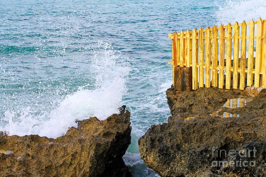 Negril Sea Splash by Debbie Levene