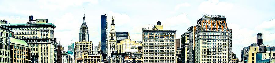 Union Square Photograph -   New York City by Ken Marsh