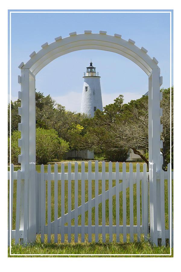 North Carolina Photograph -  Ocracoke Island Lighthouse by Mike McGlothlen