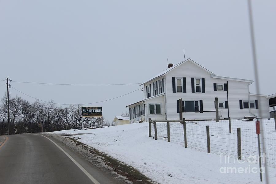 Prairie Lane Photograph by R A W M