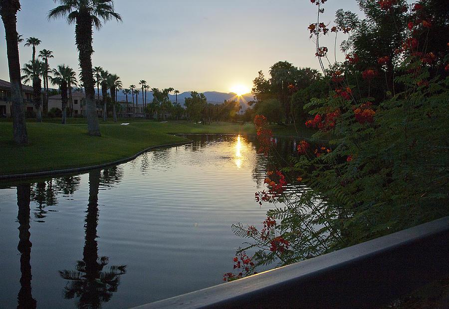 Golf Course Photograph - Reflections On The Lake by Gilbert Artiaga
