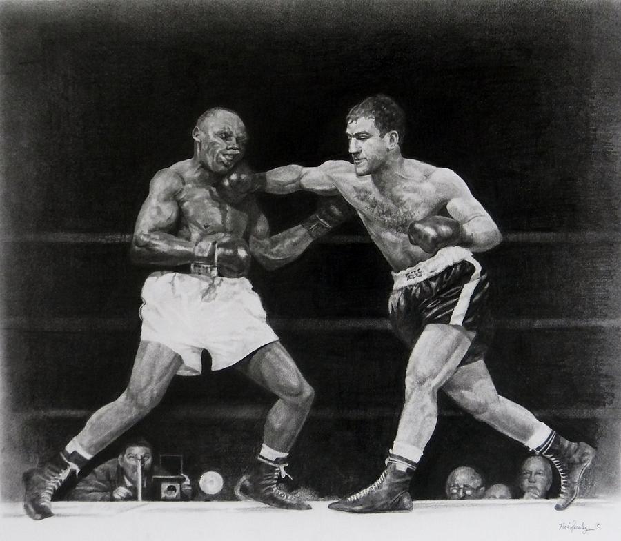 Rocky Marciano Drawing - Rocky Marciano by Noe Peralez