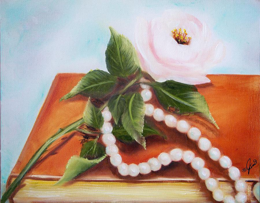 Rose and Pearls by Joni McPherson