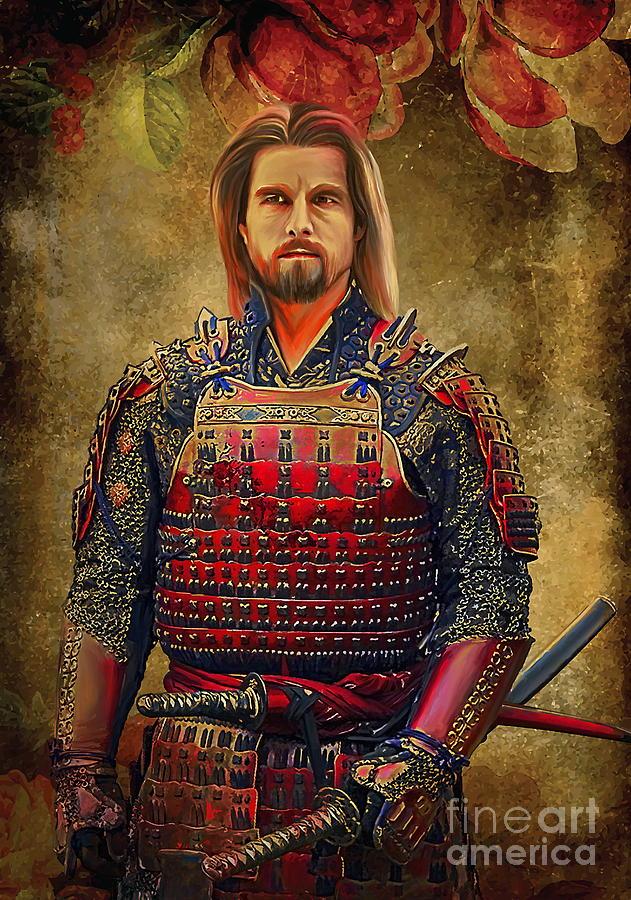 Abstract Digital Art -  Samurai by Andrzej Szczerski
