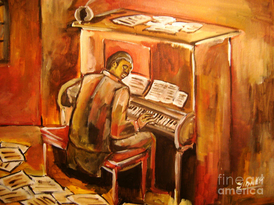 Music Painting -  Scott Joplin by Sidney Holmes