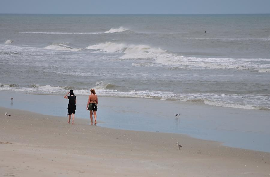 Stroll Photograph -  Seaside by Karl Davis